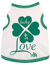 Lucky In Love - Tank - White
