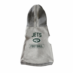 New York Jets Pet Hooded Crewneck