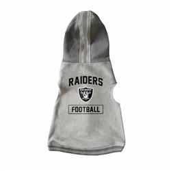 Oakland Raiders Pet Hooded Crewneck