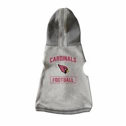 Arizona Cardinals Pet Hooded Crewneck