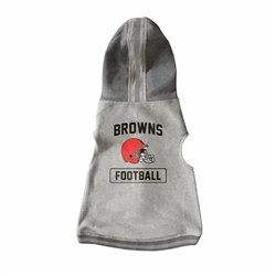 Cleveland Browns Pet Hooded Crewneck