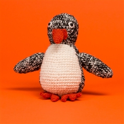 HAND KNIT PENGUIN