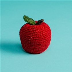 HAND KNIT APPLE