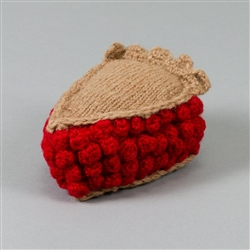 HAND KNIT CHERRY PIE