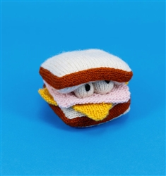 HAND KNIT HAM & CHEESE