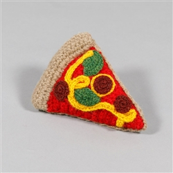 HAND KNIT PIZZA