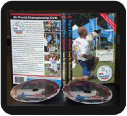 '06 Hyperflite Skyhoundz Canine Disc World Championship DVD (2 DVD Set)