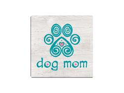 Dog Mom - Single Square Coaster 6 pk