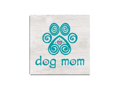 Dog Mom - Single Square Coaster 6 pk