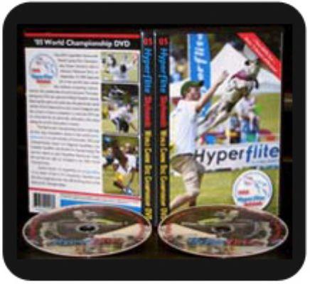 '05 Hyperflite Skyhoundz Canine Disc World Championship DVD (2 DVD Set)