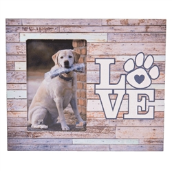 "Love 9.5"" x 8"" Vertical Picture Frame"