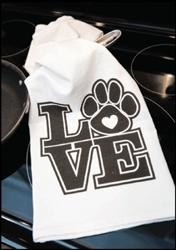Kitchen Towel - Love