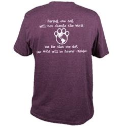Saving One Dog - Unisex T-Shirt