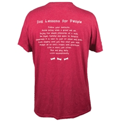 Dog Lessons for People - Unisex T-Shirt