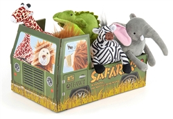 Safari Toy Collection (10 pc in FREE POP Display)