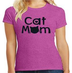Cat Mom - Ladies T-Shirt