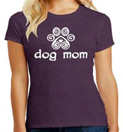 Dog Mom - Ladies T-Shirt