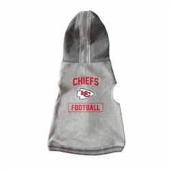 Kansas City Chiefs Pet Hooded Crewneck