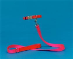 Pink & Orange Two Tone Collar / Leash