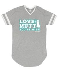 Love the Mutt You're With Women's Sleep shirt