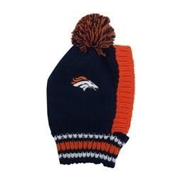 Denver Broncos Pet Knit Hat