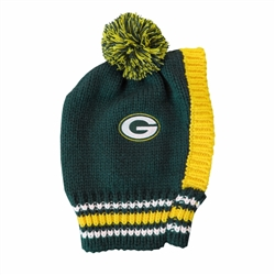 Green Bay Packers Pet Knit Hat