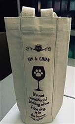 Vin & Chien Wine Bag