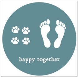 Happy Together Coaster Set in a Gift Tin