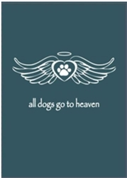 All Dogs Go to Heaven Greeting Cards - 6/pack
