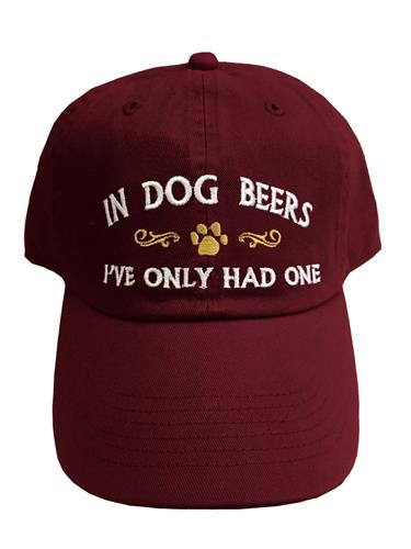 In Dog Beers... Hat