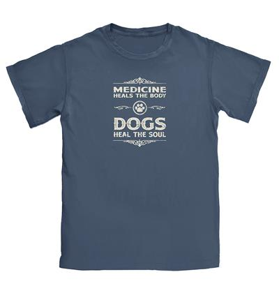 Dogs Heal the Soul T-shirt