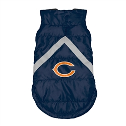 Chicago Bears Pet Puffer Vest
