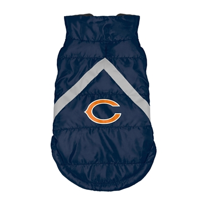 Chicago Bears Pet Puffer Vest