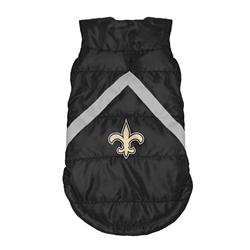 New Orleans Saints Pet Puffer Vest