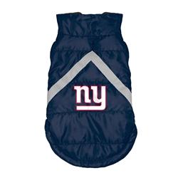 New York Giants Pet Puffer Vest