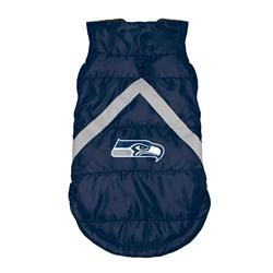 Seattle Seahawks Pet Puffer Vest