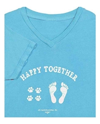 Happy Together V Neck T-shirt