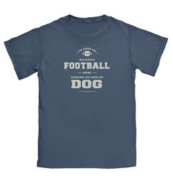 Dog and Football T-shirt