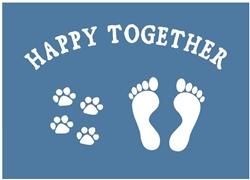 Happy Together Fridge Magnets