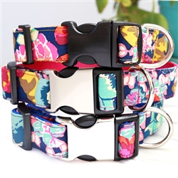 Ella Floral Dog Collars & Leashes -- 4 Colors