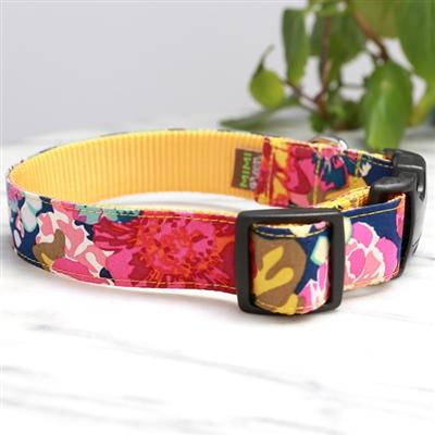 Ella Floral Dog Collars & Leashes -- 4 Colors