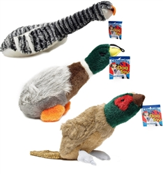 Assorted Waterfowl Plush Toys - 6 pack