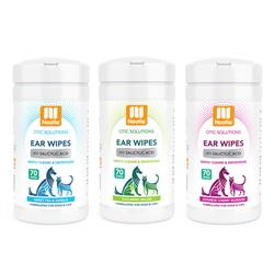 Ear Wipes - 70 count canisters