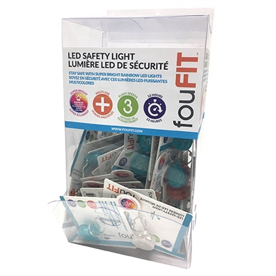 LED Safety Lights (Dog Tags) - PDQ Box (48 units)