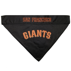 San Francisco Giants REVERSIBLE Dog Bandana