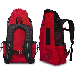 Ruby Red K9 Sport Sack AIR Forward Facing Backpack Dog Carrier
