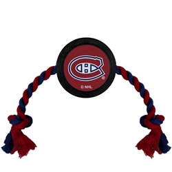 NHL Montreal Canadians Hockey Puck Toy