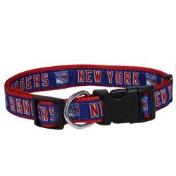 New York Rangers Dog Collar and Leash – RIBBON