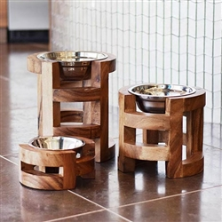 Brair Raised Dog Bowls