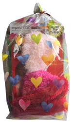 Imperial Cat Fuzzy Hearts Cat Gift Bag